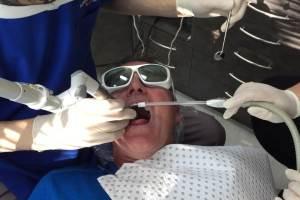 Лечение храпа лазером