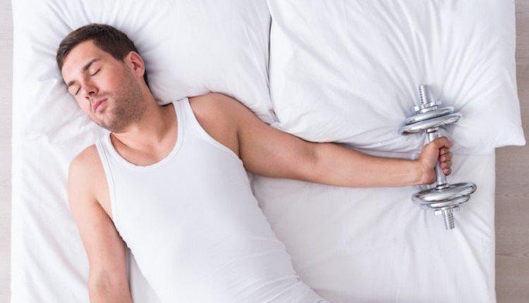 сколько калорий человек тратит во время сна